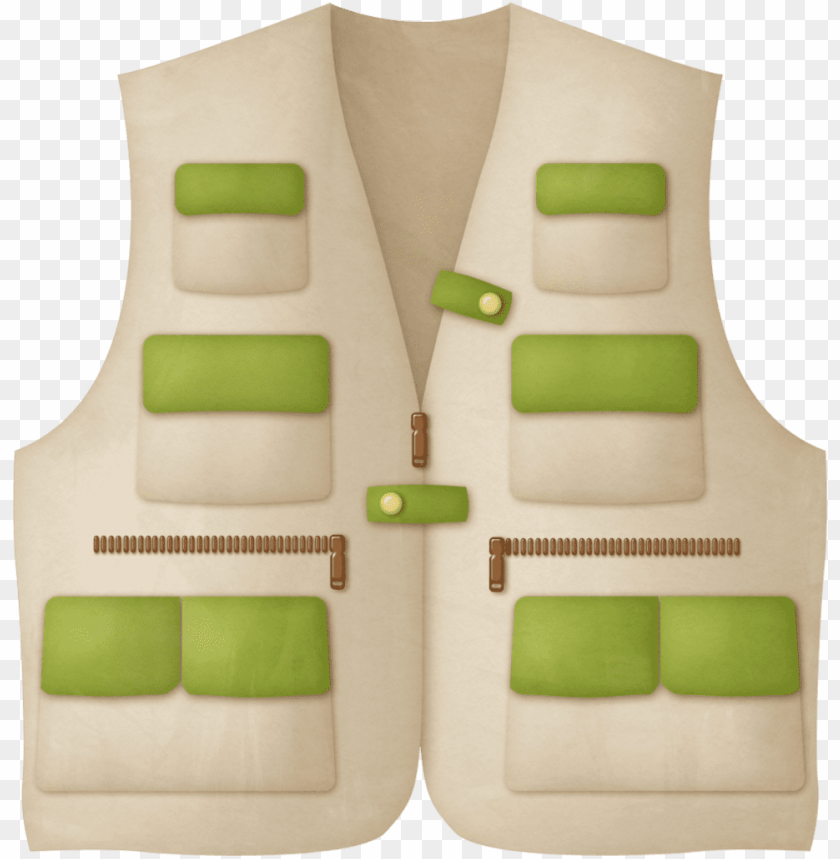 free PNG fishing jacket clip art, fish clipart, fish camp, fishing - safari jacket clip art PNG image with transparent background PNG images transparent