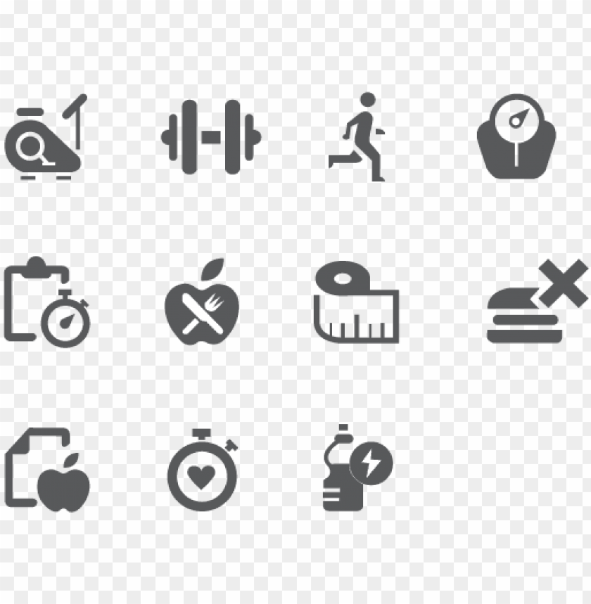 free PNG fitness icon  icons see disclaimer below - health and wellness icons png - Free PNG Images PNG images transparent