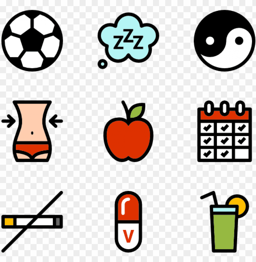 free PNG fitness icon packs - fitness icon color png - Free PNG Images PNG images transparent