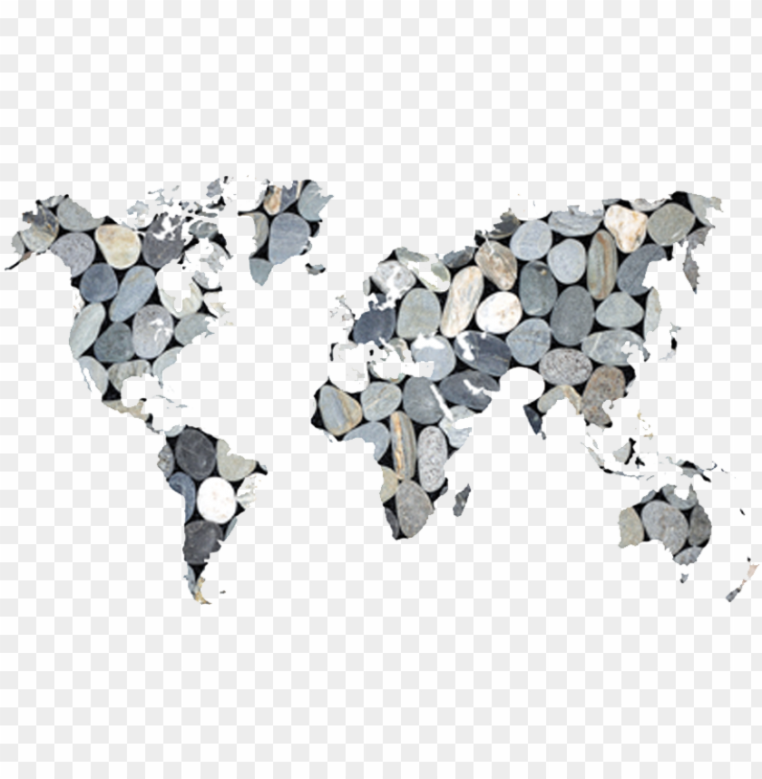 free PNG five stones global - free world map cartoo PNG image with transparent background PNG images transparent