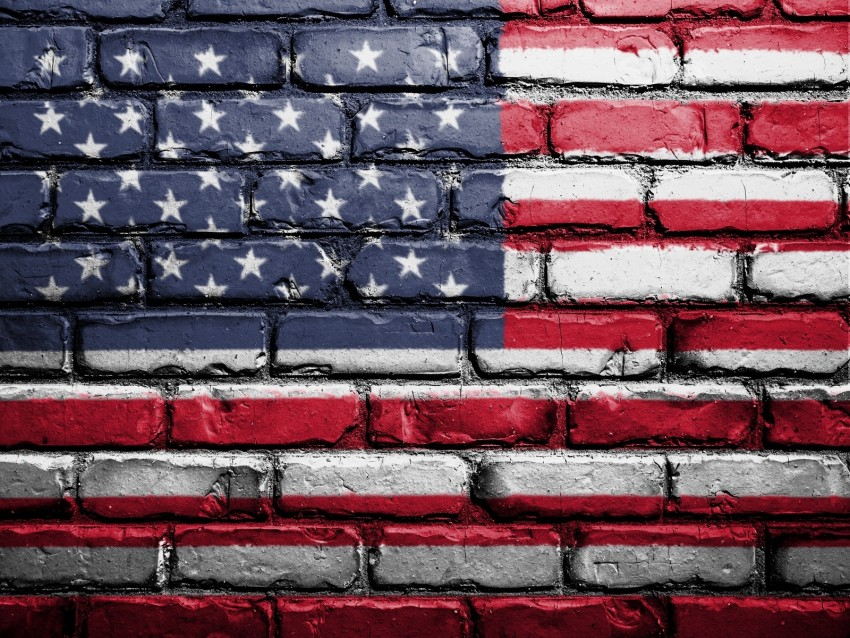 free PNG flag, america, usa, symbolism, wall, brick, paint background PNG images transparent