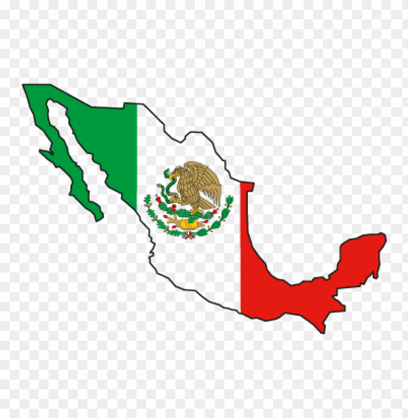 flag of mexico vector logo free download@toppng.com