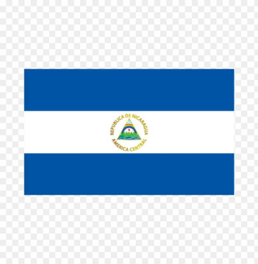 free PNG flag of nicaragua vector logo PNG images transparent