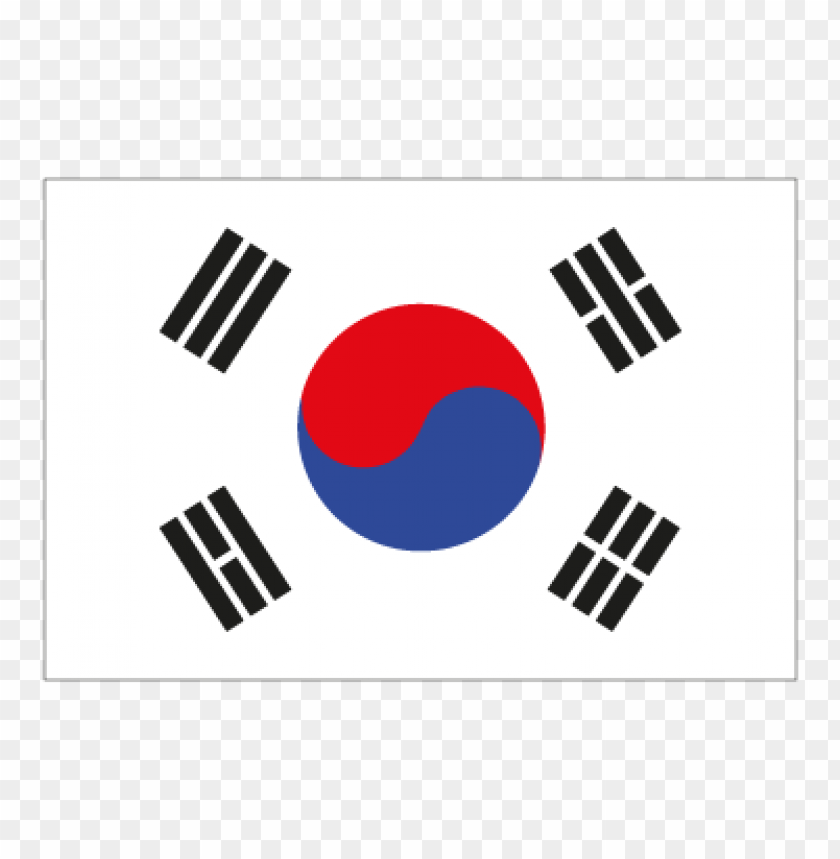 free PNG flag of south korea vector logo PNG images transparent