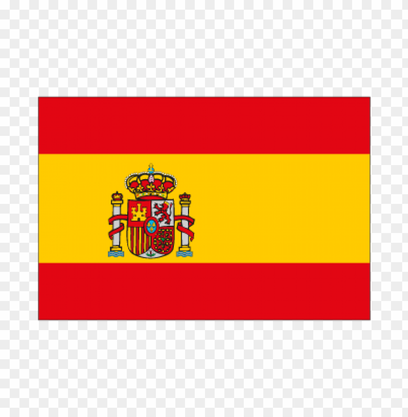 free PNG flag of spain vector logo PNG images transparent