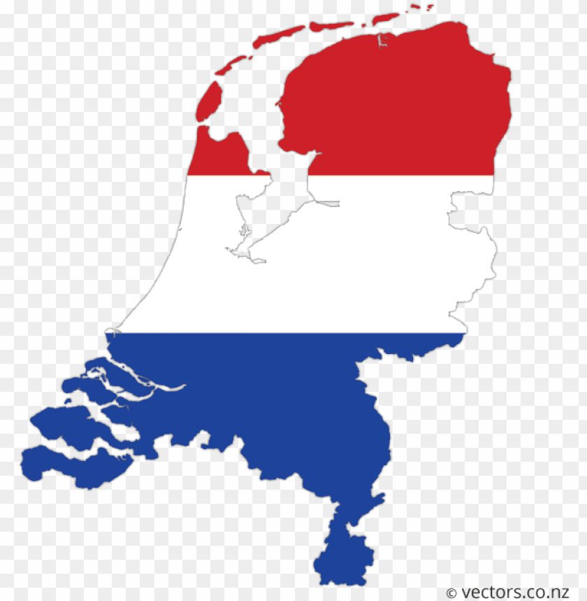 free PNG flag vector map of the netherlands - relief map of holland PNG image with transparent background PNG images transparent