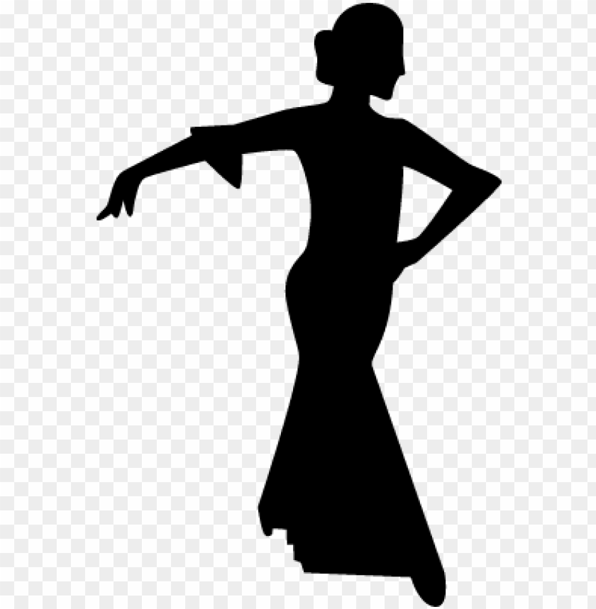 free PNG flamenco female dancer silhouette vector - female dancer silhouette PNG image with transparent background PNG images transparent