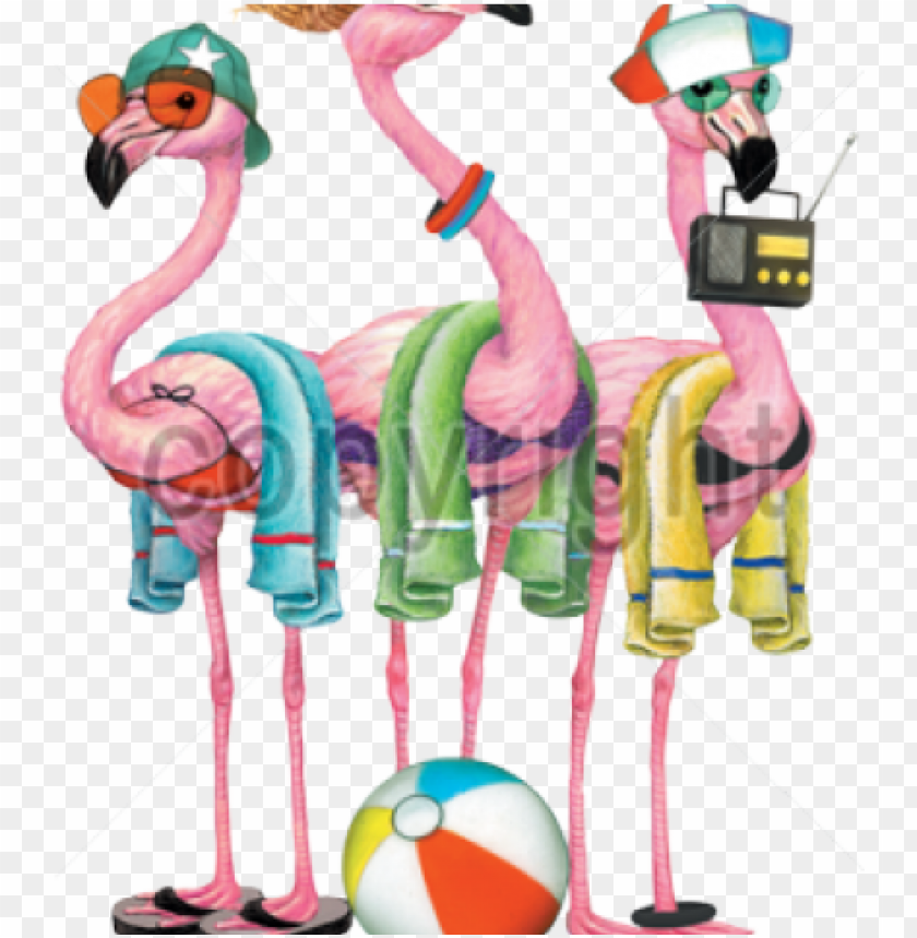 free PNG flamingo clipart beach - beach flamingo clipart PNG image with transparent background PNG images transparent