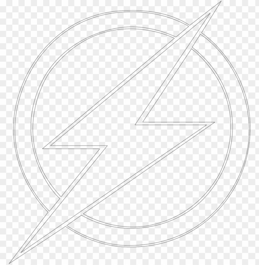free PNG flash logo coloring pages plus super coloring pages - flash transparent logo white PNG image with transparent background PNG images transparent