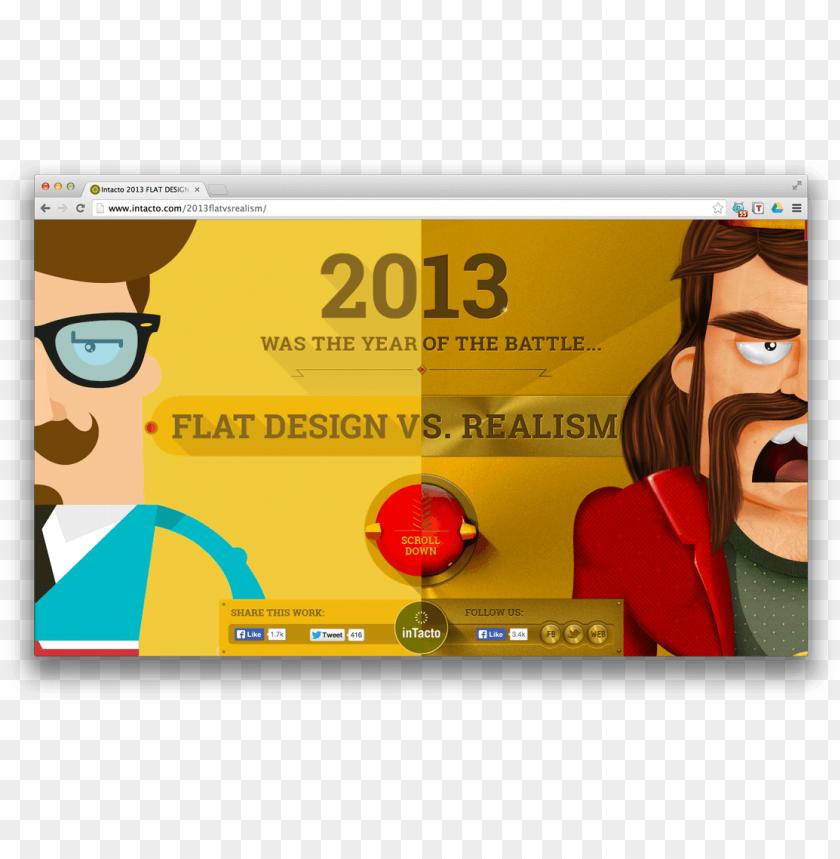 free PNG flat design vs realism PNG image with transparent background PNG images transparent
