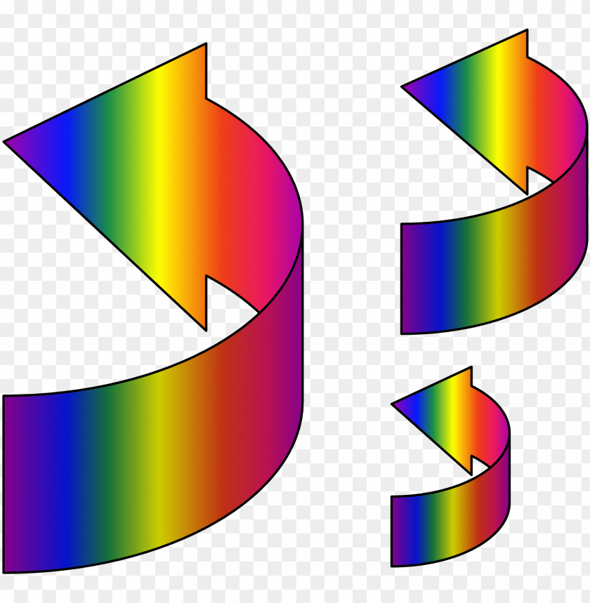 free PNG flecha arcoiris PNG image with transparent background PNG images transparent