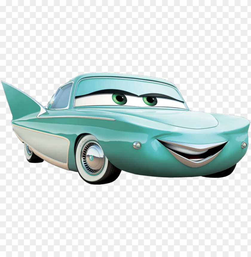 free PNG flo cars 2 PNG image with transparent background PNG images transparent