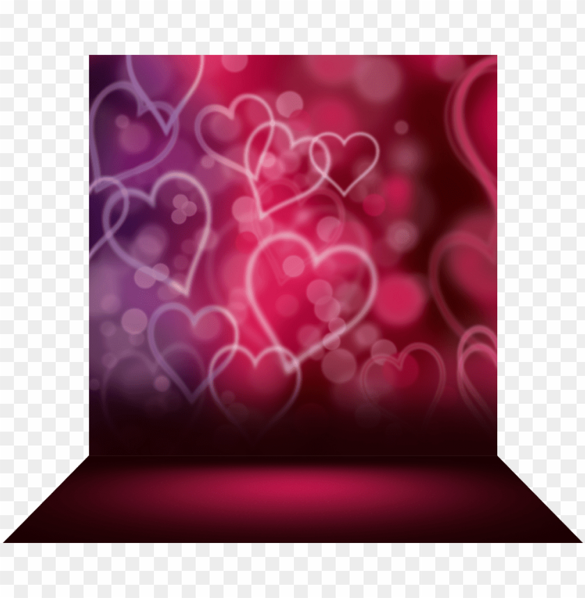 free PNG floating hearts - four-dimensional space PNG image with transparent background PNG images transparent