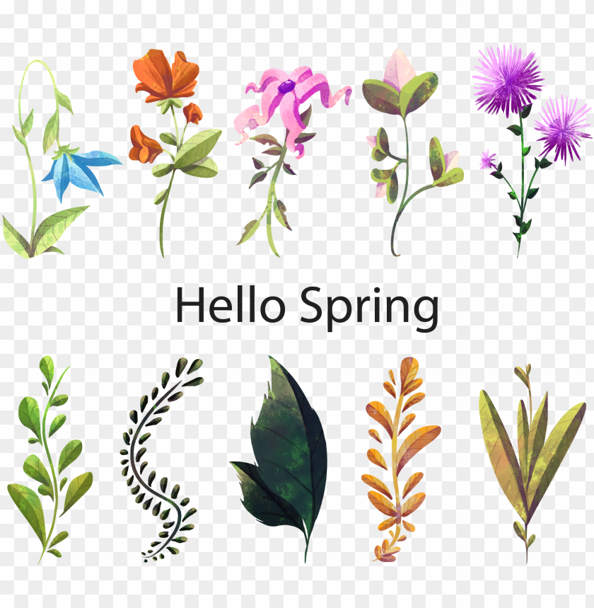 free PNG floral design watercolor painting flower plant - flower PNG image with transparent background PNG images transparent