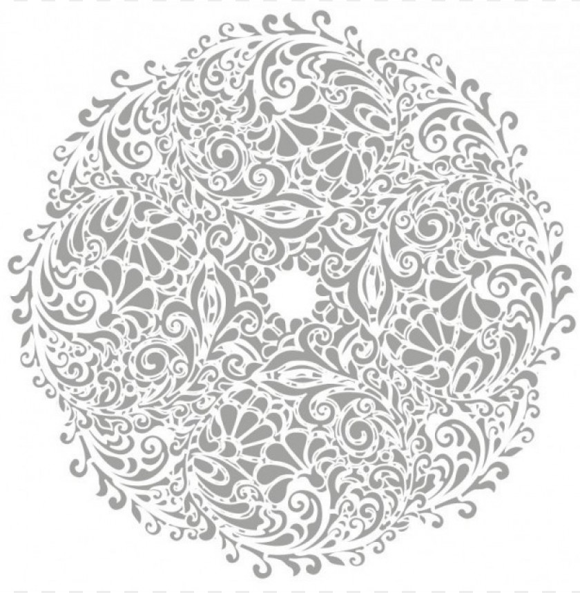 free PNG floral round background tattoo vector download PNG images transparent