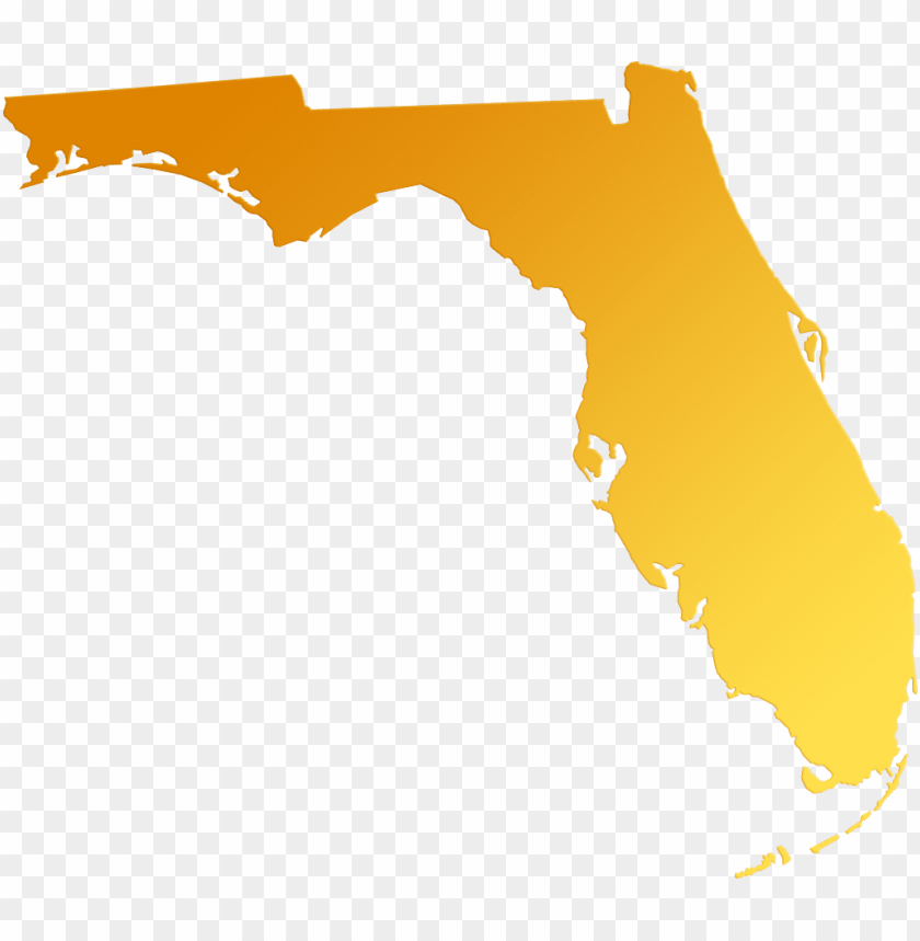 free PNG florida map outline png picture transparent library - florida state transparent PNG image with transparent background PNG images transparent