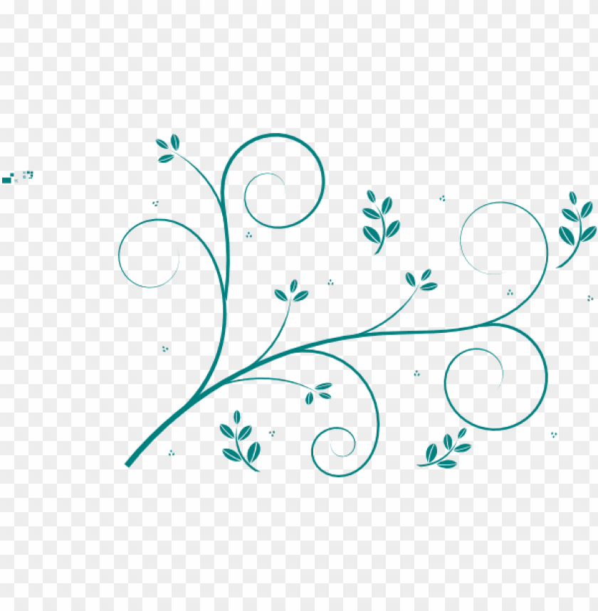 free PNG flourish divider clip art, swirl divider, swirl clipart - vine line drawing flower PNG image with transparent background PNG images transparent