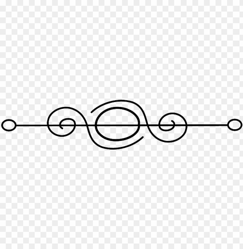 free PNG flourish horizontal symbol fancy page break - end of book symbol PNG image with transparent background PNG images transparent