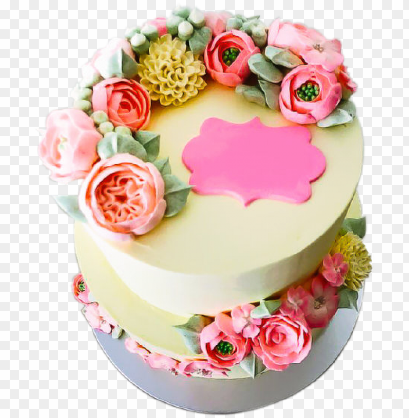 Phenomenal Flower Birthday Cake Designs Drdp Floral Birthday Cake Floral Funny Birthday Cards Online Alyptdamsfinfo