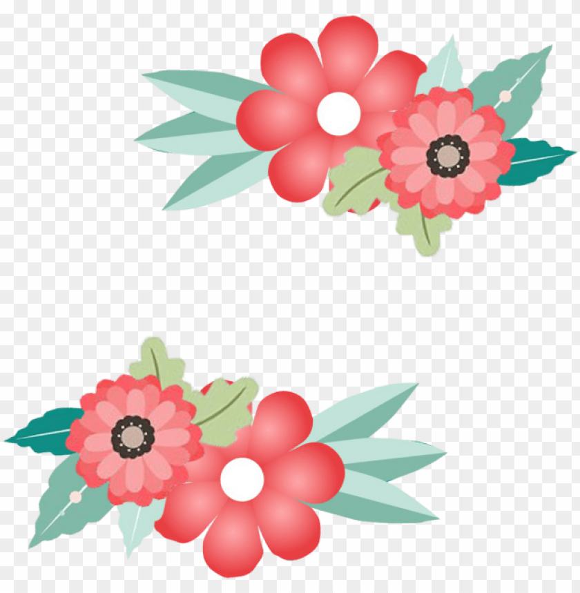 free PNG flower border, flower border,frame, border, invitation - png border flower illustration vector PNG image with transparent background PNG images transparent