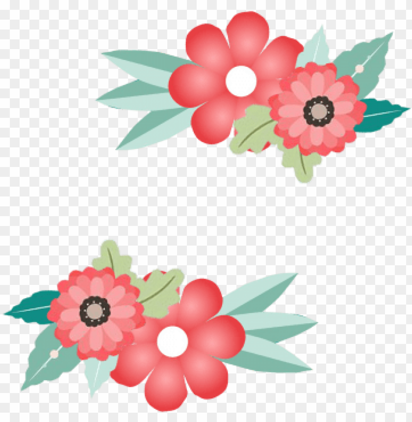 flower border, flower border,frame, border, invitation - png border flower illustration vector PNG image with transparent background@toppng.com
