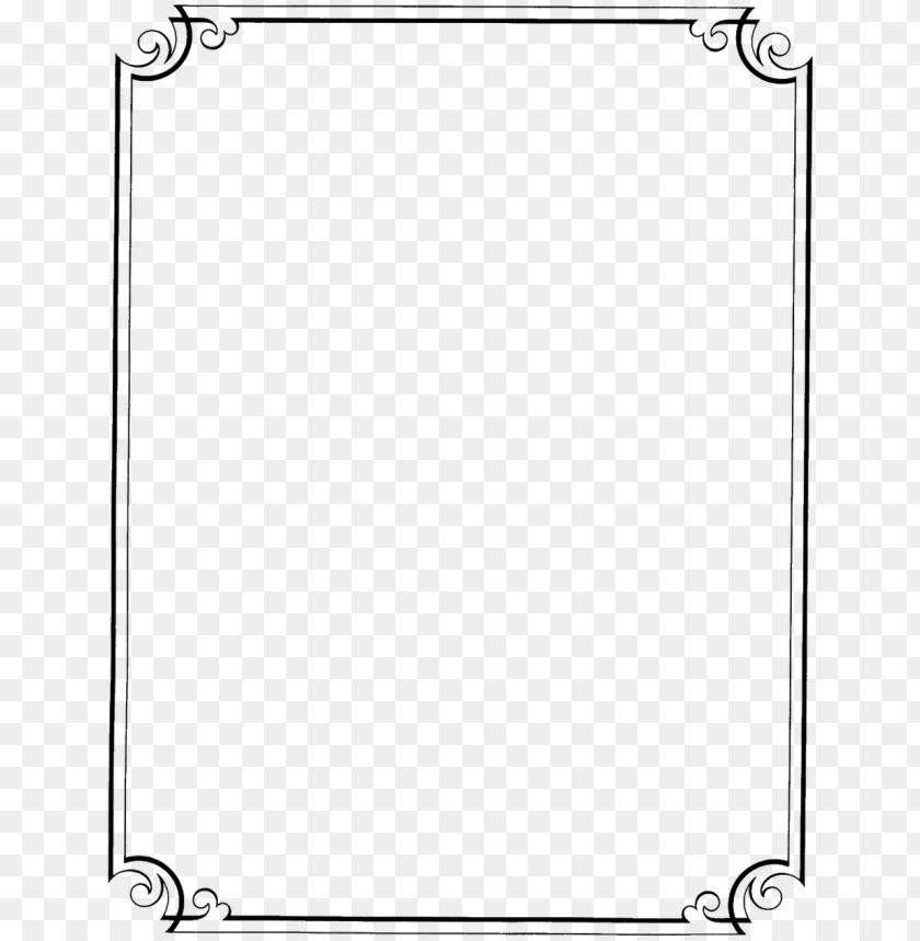 free PNG flower border line design clipart best clipgoo top - invitation border designs PNG image with transparent background PNG images transparent