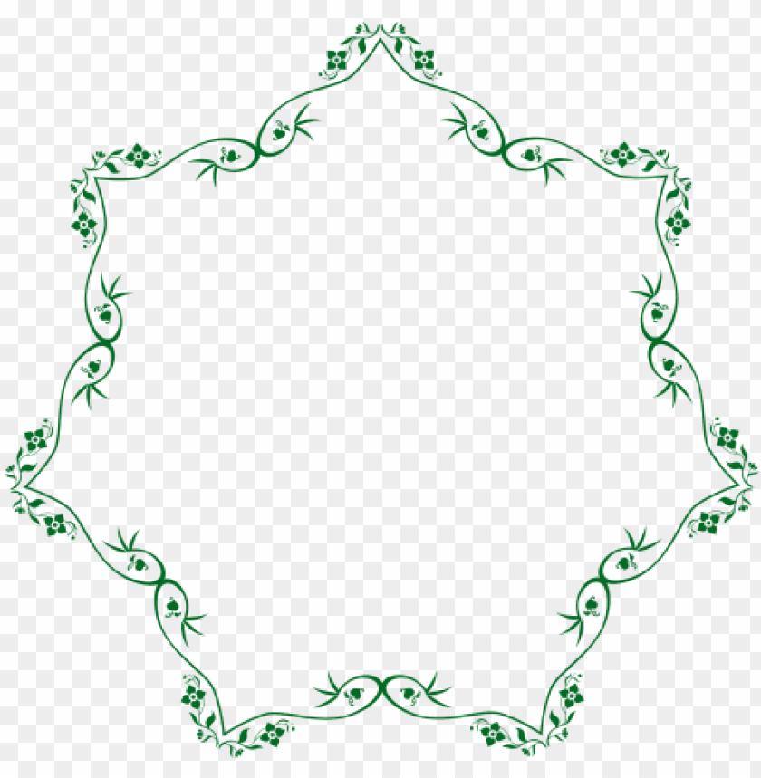 free PNG flower border png image - transparent swirl flower border PNG image with transparent background PNG images transparent