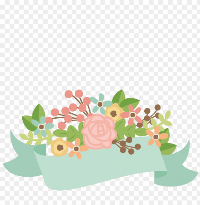 free PNG flower clipart banner - free flower banner PNG image with transparent background PNG images transparent