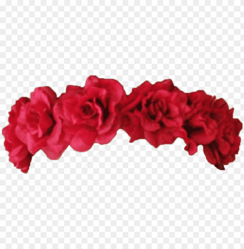 free PNG flower crown transparent overlay png image with transparent - red flower crown PNG image with transparent background PNG images transparent