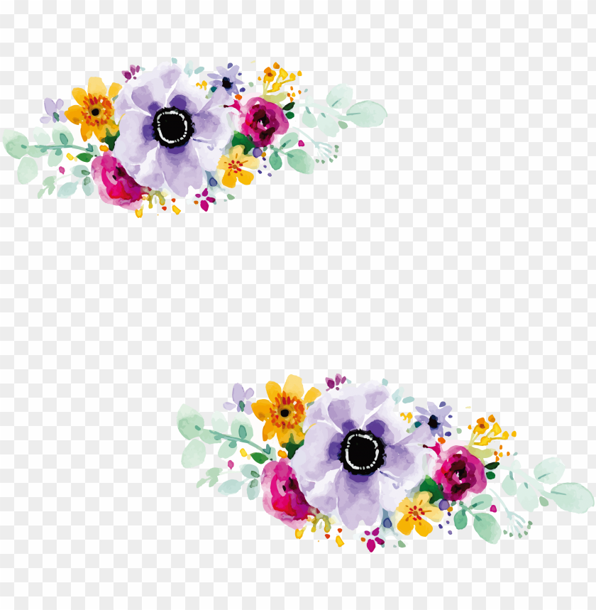 Flower Design For Wedding Invitation Png Image With Transparent Background Toppng