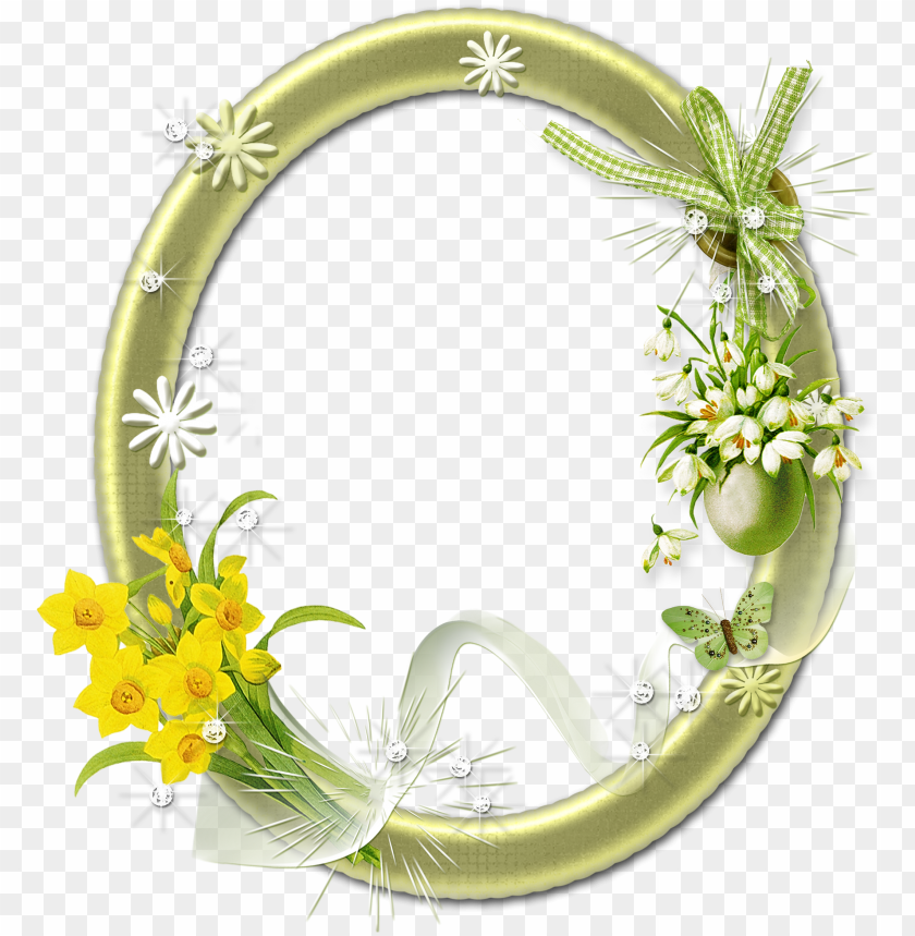 free PNG flower frame png, high quality images, printable frames, - oval photo frames PNG image with transparent background PNG images transparent