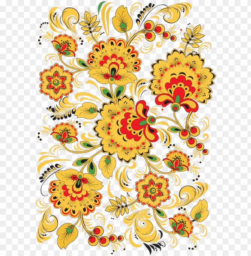 free PNG flower pattern design - floral pattern note cards PNG image with transparent background PNG images transparent