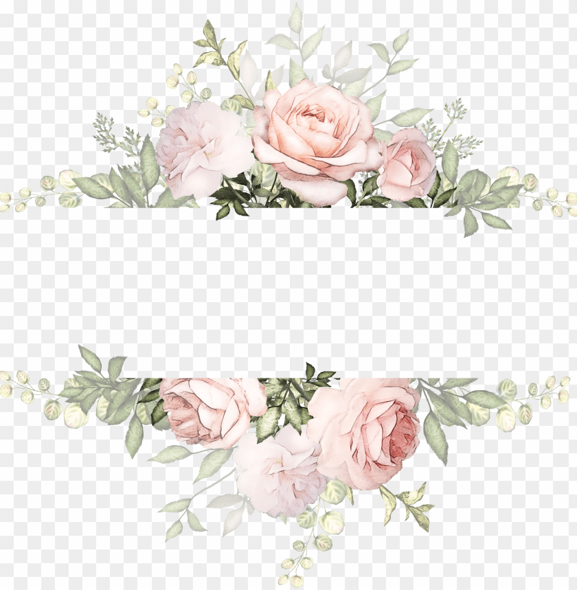 Flower Watercolor Vintage Watercolor Flowers Background Png