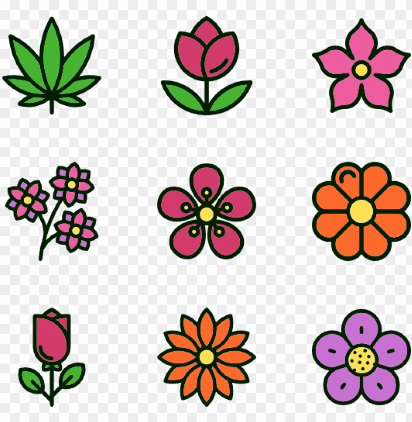 free PNG flowers 30 icons - icon flowers png - Free PNG Images PNG images transparent