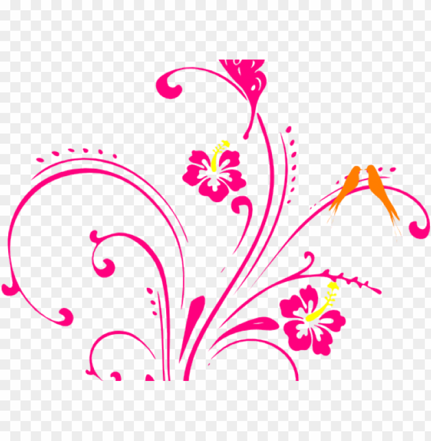 Flowers Borders Clipart Butterfly Flower Butterfly Clip Art Png Image With Transparent Background Toppng