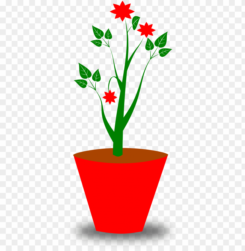 free PNG flowers for flower pot clipart black and white - flower pot png vector PNG image with transparent background PNG images transparent