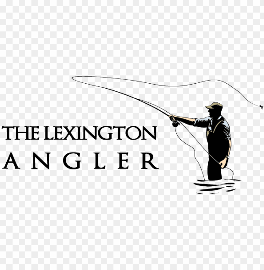 free PNG fly south logo the lexington angler logo - fly fishing rod logo PNG image with transparent background PNG images transparent
