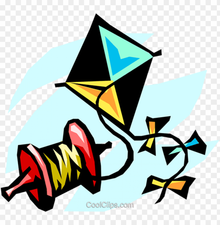 Flying A Kite Royalty Free Vectorillustration Fly A Kite Cartoon