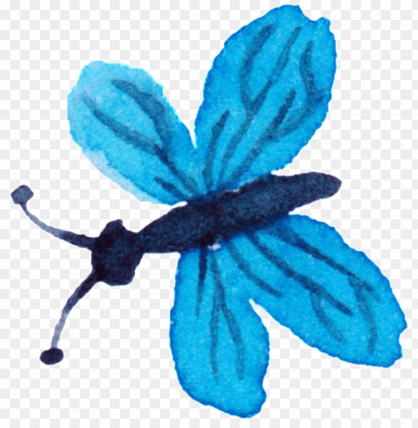 free PNG flying butterfly watercolor hand painted decorative - watercolor painti PNG image with transparent background PNG images transparent