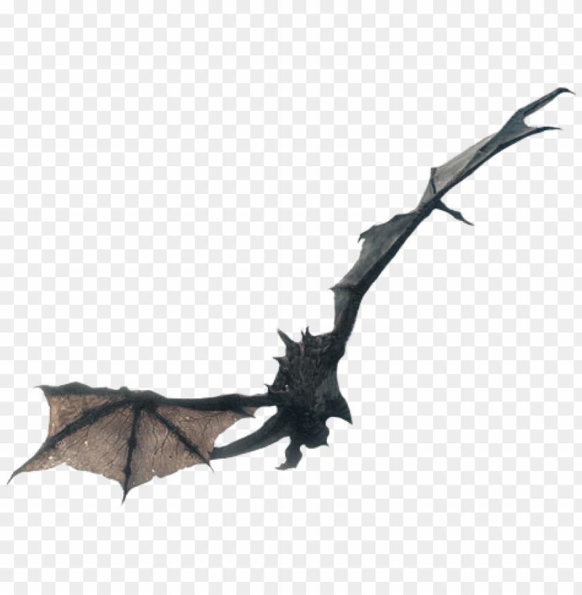 Flying Dragon From Skyrim Skyrim Wallpaper 1080 Png Image