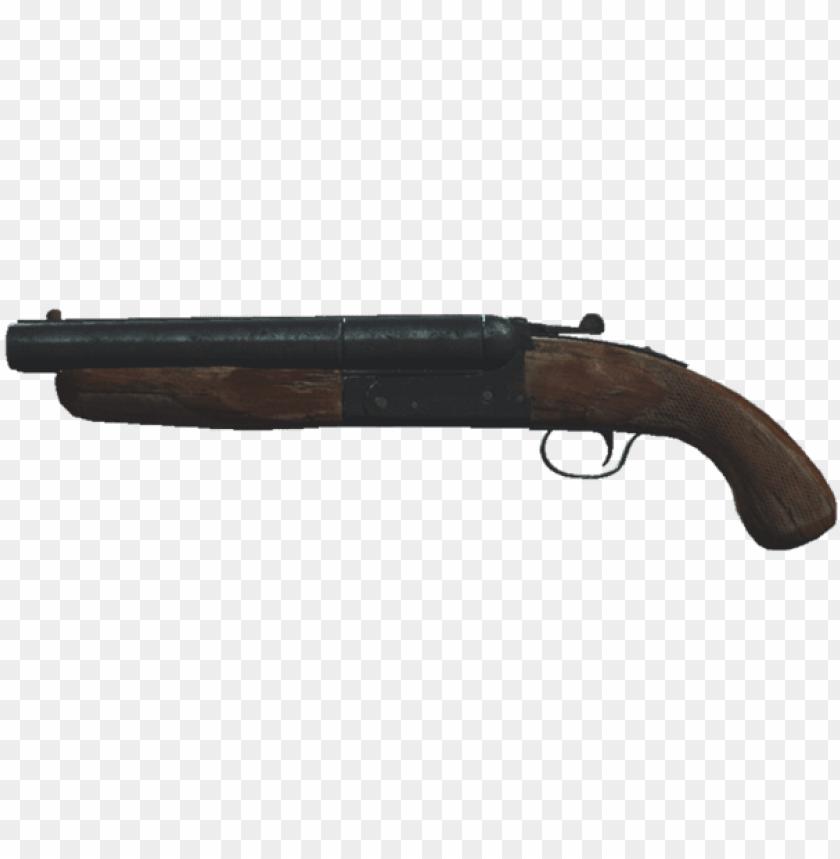free PNG fo4 sawed-off shotgun - sawed off shotgun PNG image with transparent background PNG images transparent