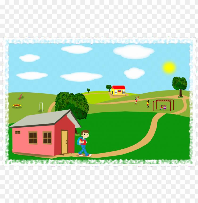 free PNG fondo-paisaje - cartoo PNG image with transparent background PNG images transparent