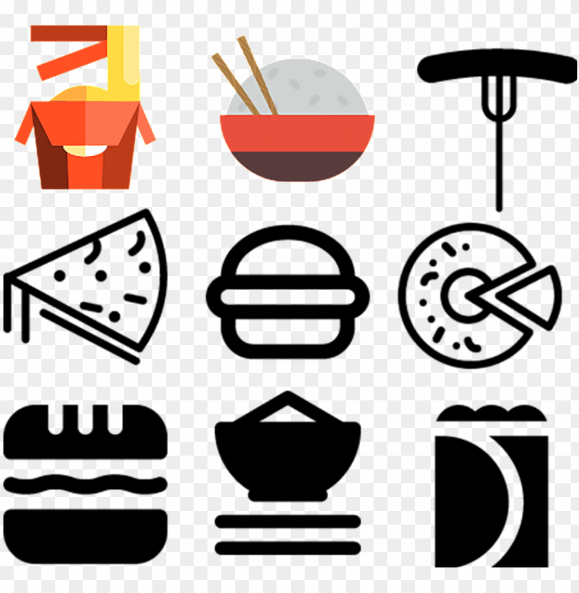 free PNG food icon icon about icon icon fries,milk,hot dog,pizza,cheese,button png - Free PNG Images PNG images transparent