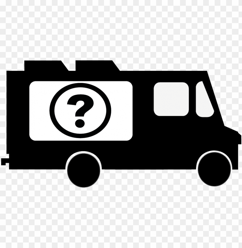 free PNG food truck black and white PNG image with transparent background PNG images transparent