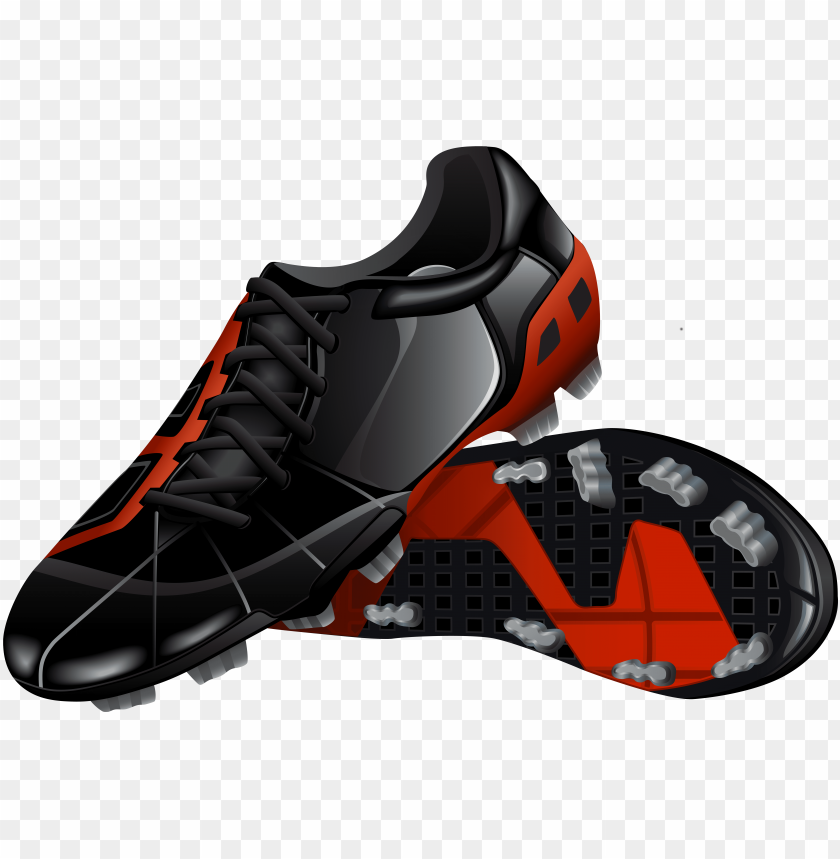 free PNG footbal shoes png clip art - hiking shoe PNG image with transparent background PNG images transparent