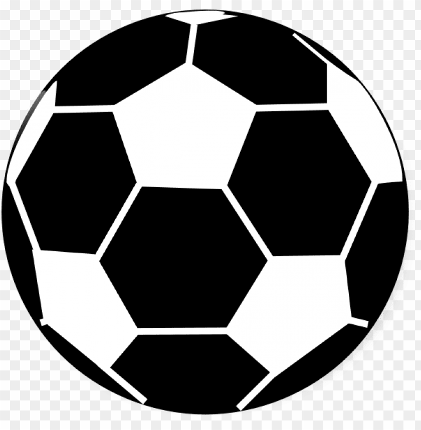 free PNG football clipart black and white - football black & white PNG image with transparent background PNG images transparent