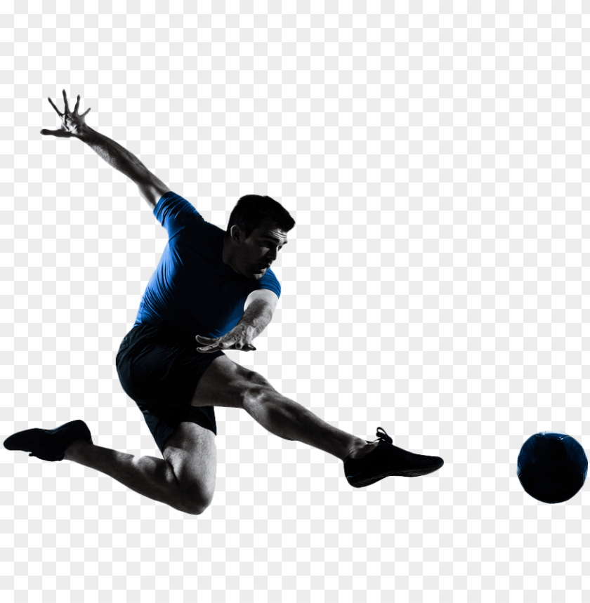 free PNG football flying kick PNG image with transparent background PNG images transparent