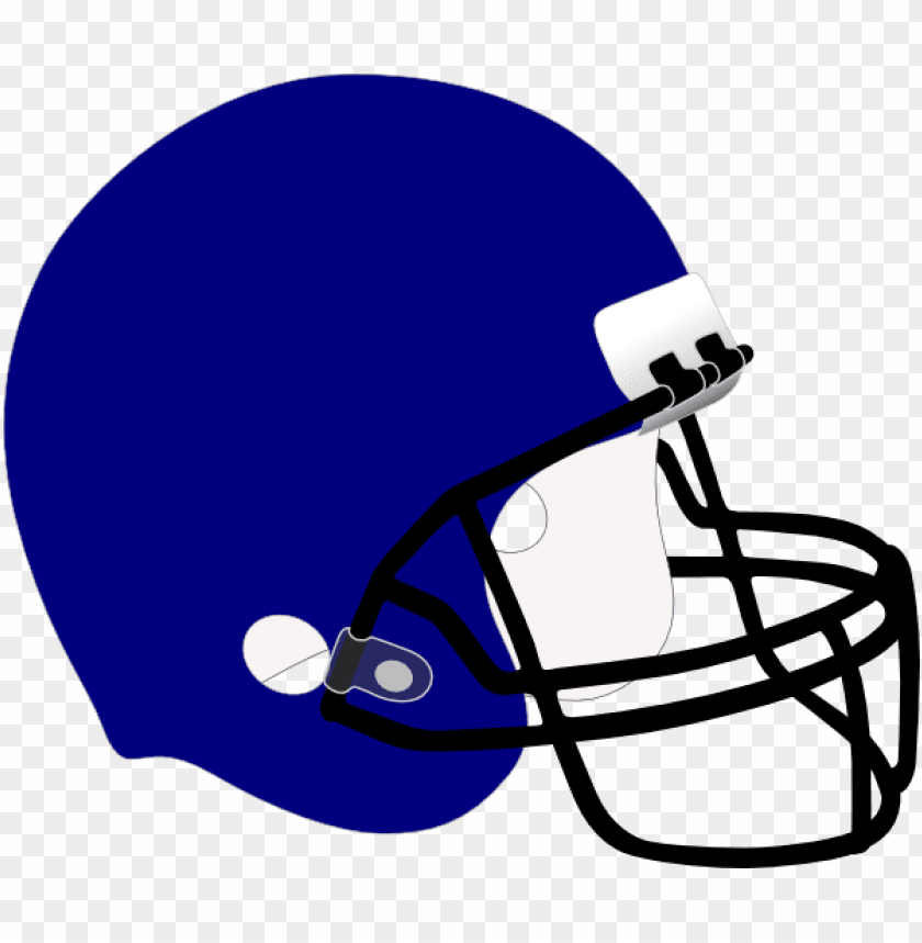 free PNG football helmet front drawing - football helmet clipart blue PNG image with transparent background PNG images transparent