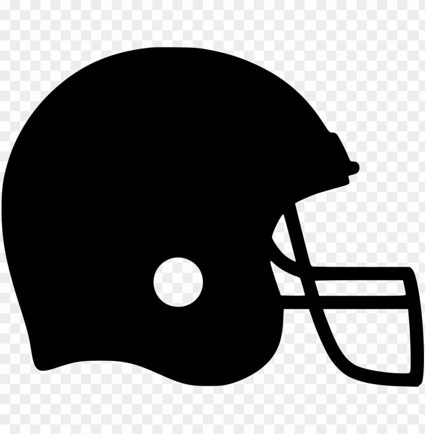 free PNG football icon png - football helmet clipart black and white PNG image with transparent background PNG images transparent