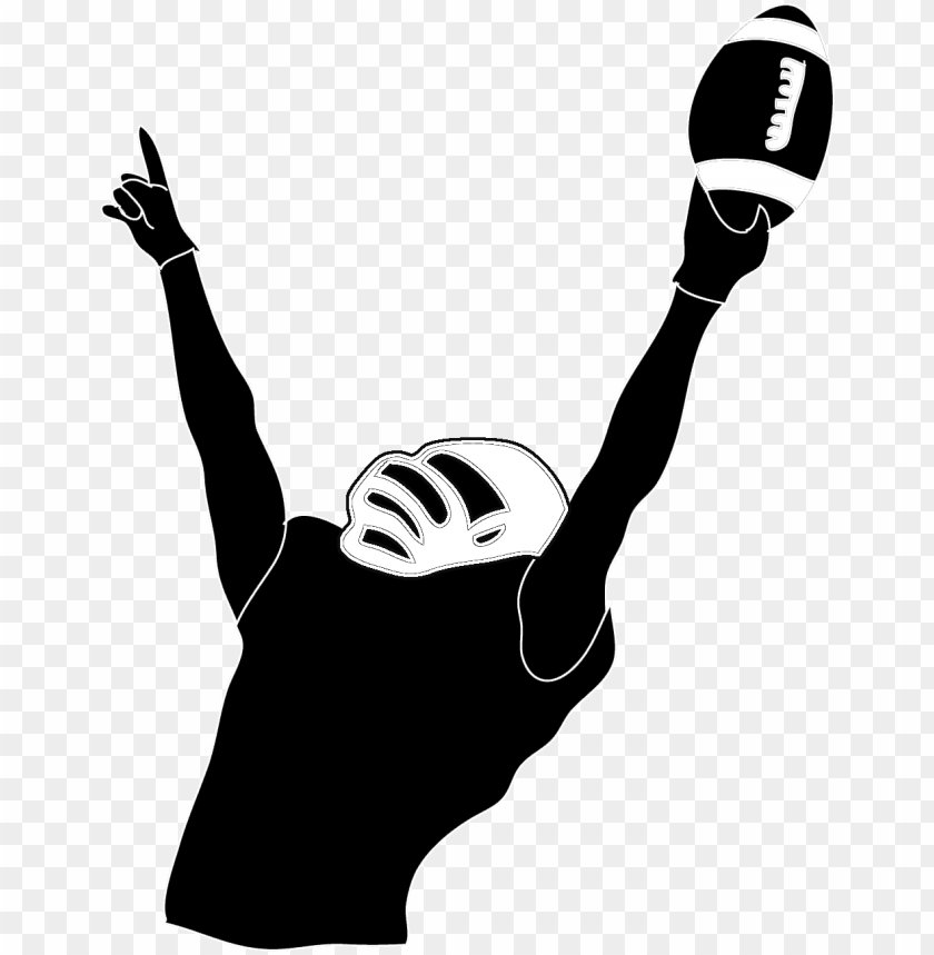 free PNG football player silhouette PNG image with transparent background PNG images transparent